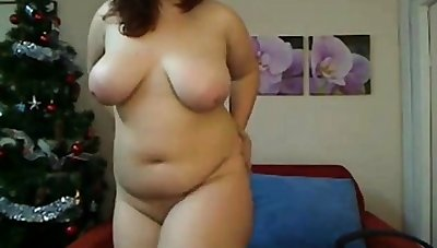 Young chubby Romanian girl gets uncover on cam