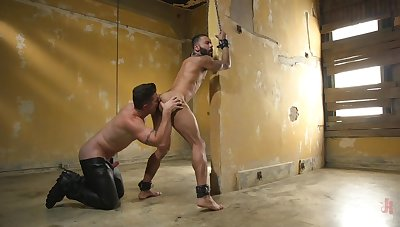 Gay loevrs plot the erotic BDSM play in a crazy XXX skit