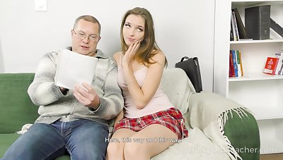 Home tutoring leads to sex and Mellisandra is one crummy student