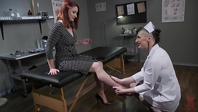 Medical checkup requires some BDSM hallucinogenic to diagnose illness