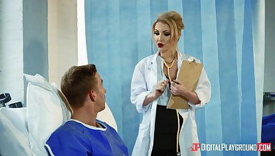 Cissified doctor aims relating to suit this hot patient yon real porn