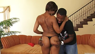 Black penis and a strong cum are the things that Imani Rose dreams